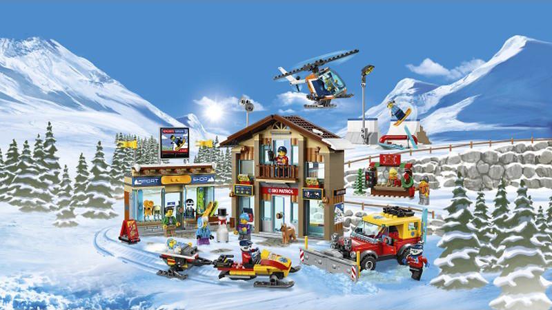 60203 LEGO City Ski Resort