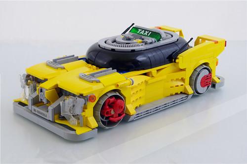 Volkswagen cyberpunk taxi (01)