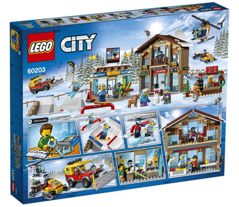 60203 LEOG City Ski Resort