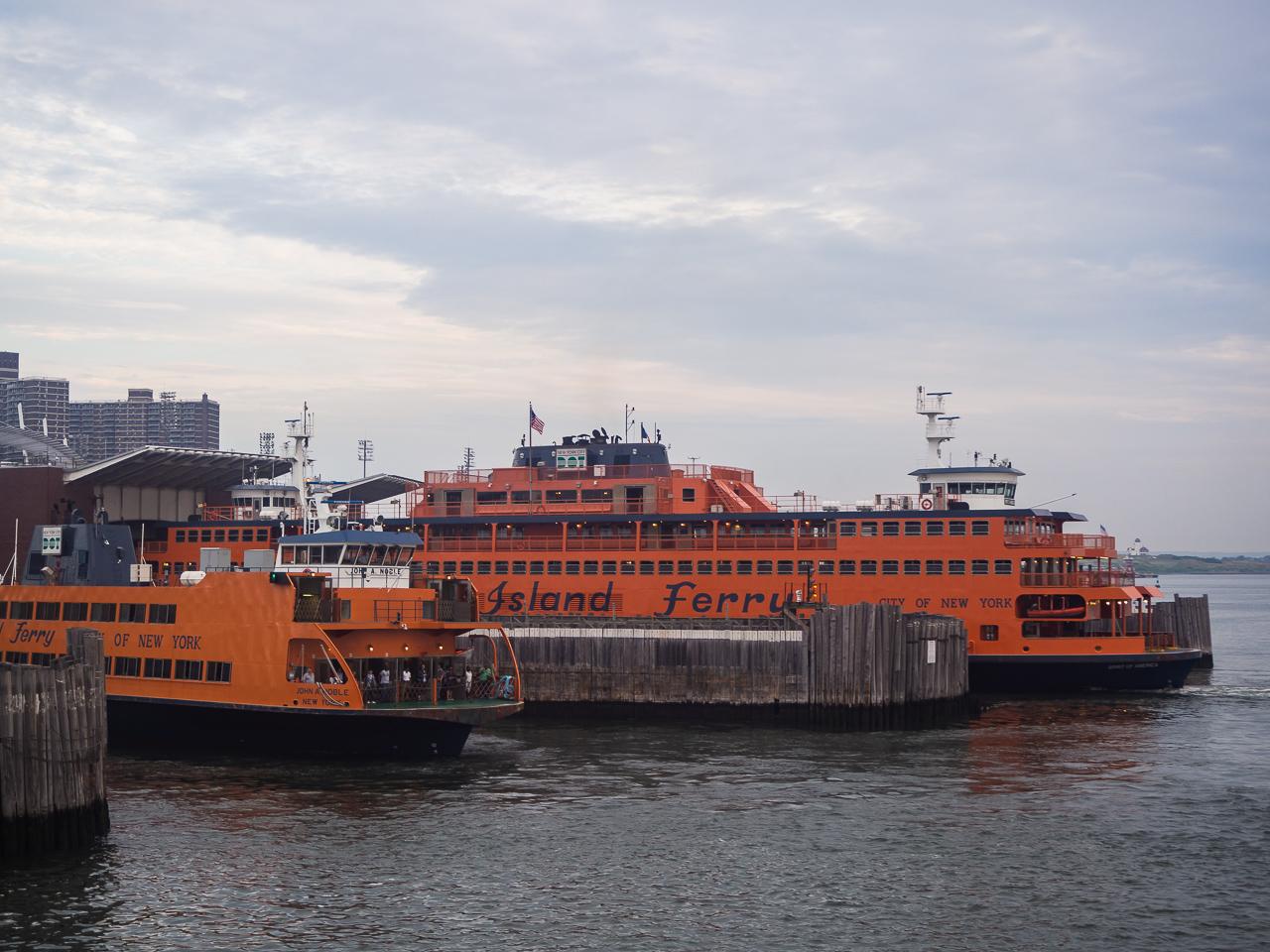 ilmaista tekemistä new yorkissa Staten Island Ferry