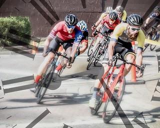 The Race is On, Tour de White Rock double exposure. Thanks for your appreciation, Gail