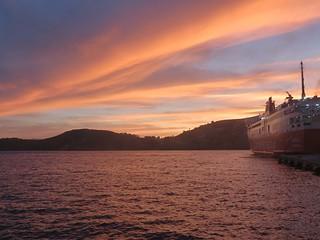 Sunset, Ios Island, Greece
