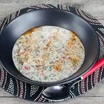 Persische Joghurtsuppe, gekühlt