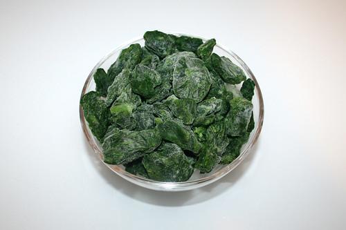04 - Zutat Blattspinat / Ingredient leaf spinach