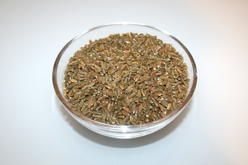02 - Zutat Grünkorn / Ingredient freekeh