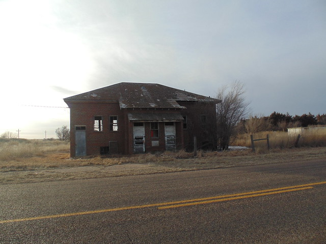 24. An old school at Colusa, a Haskell County Ghost Town, 2-9-19