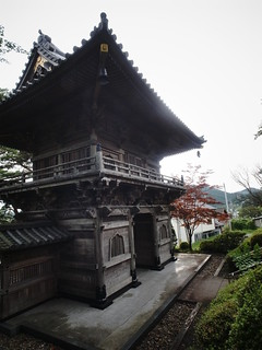 Historical gate of the old temple