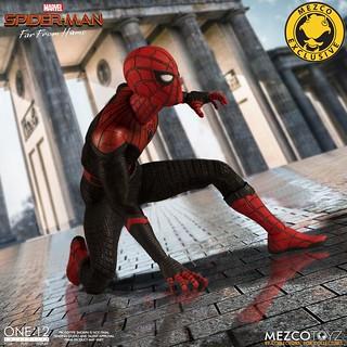 「新增官圖&販售資訊」MEZCO ONE:12 COLLECTIVE 系列《蜘蛛人:離家日》蜘蛛人 豪華版 Spider-Man Deluxe Edition【2019 Summer Exclusive】