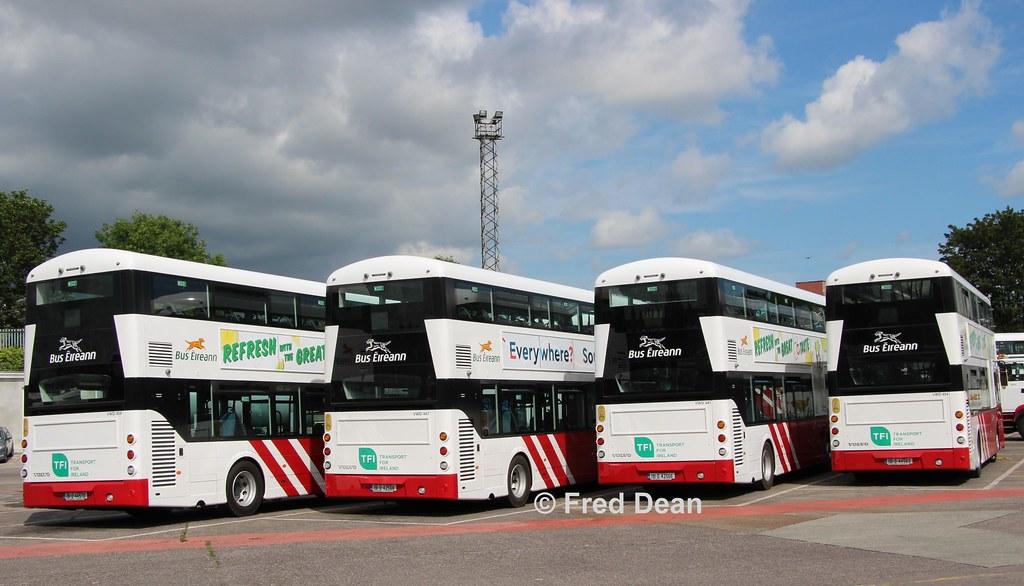 Bus Eireann VWD459/47/41/54.