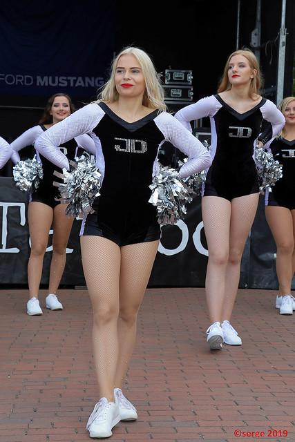 Silver Stars Cheerleader