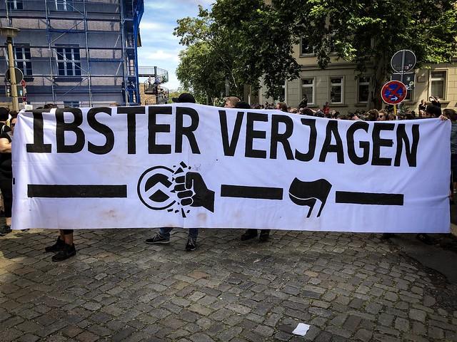 2019-07-20 blockierte Demonstration der IB in Halle #hal2007