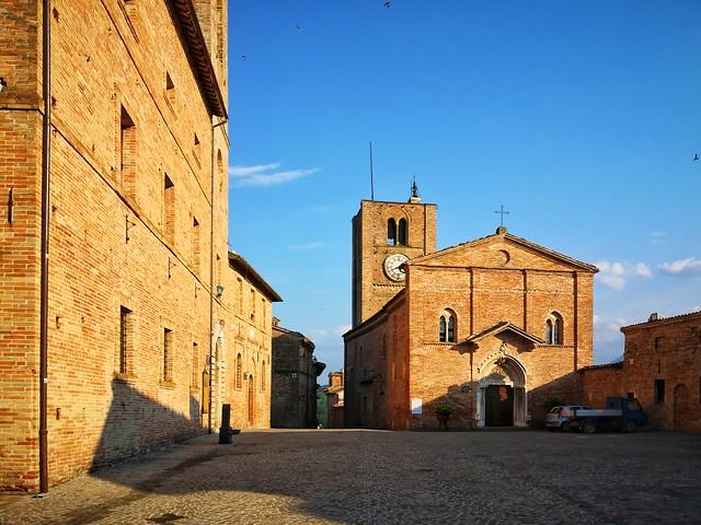Sarnano, Marche, Italia.