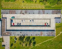 Parking | Kaunas aerial #200/365