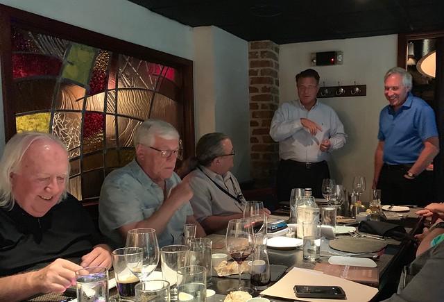 Mint Officials at Dinner