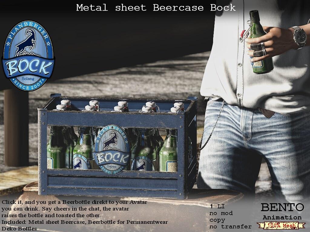 No59 Metalsheet Beercase Bock - TeleportHub.com Live!