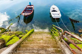 Barcos de Pesca en Muros, Galicia
