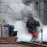 Flying Scotsman steam train in Preston
