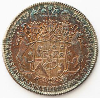 1732 Windisch-Gratz taler reverse
