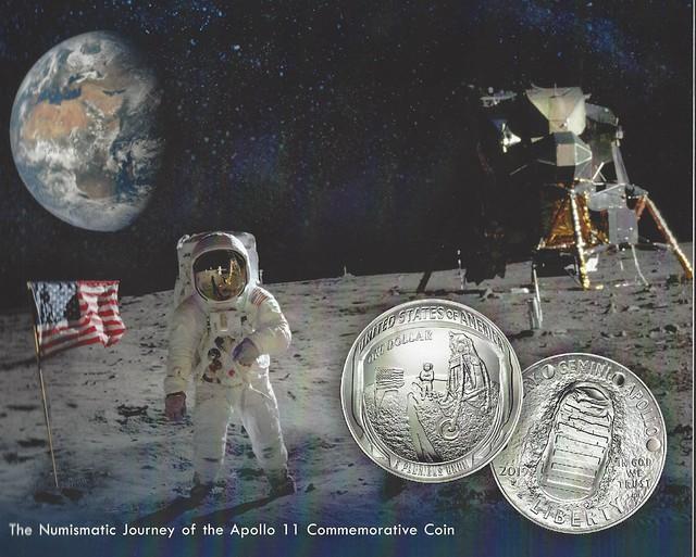 Numismatic Journey of the Apollo 11 Commemorative Coin book cover