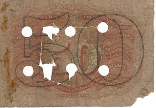 Counterfeit fractional note back