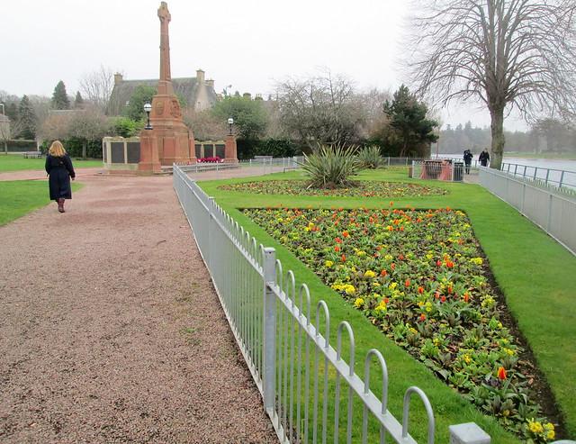 Inverness War Memorial From Approach