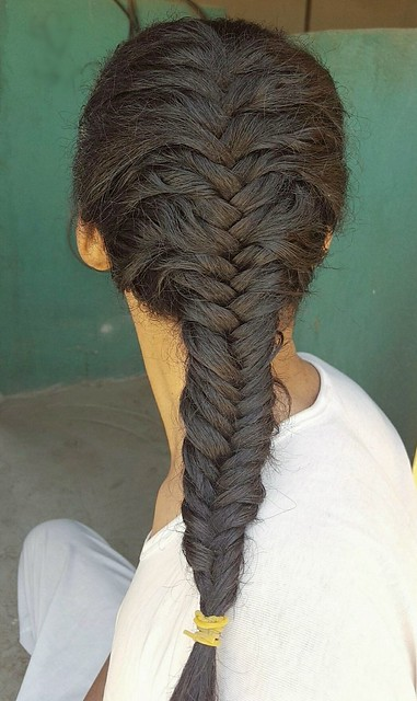 French fishtail  Fishtail braids  #hairstyle #hair #style #stylish #longhair #nice #fishtail #beautiful #beauty #braidhair #braids #braid #braided #sexyhair #fashion  تسريحة شعر ذيل السمكة  ذيل السمكة المضفر  شعر مصفر  شعر السنبلة  ذيل السمكة الفرنسي
