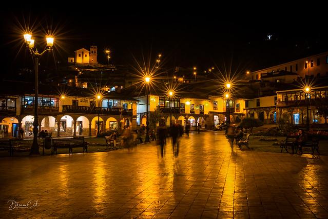 Cusco Town Sqaure