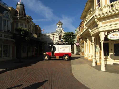 Main Street U.S.A. in Disneyland Paris