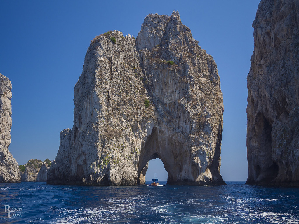 Sailing Along the Amalfi Coast