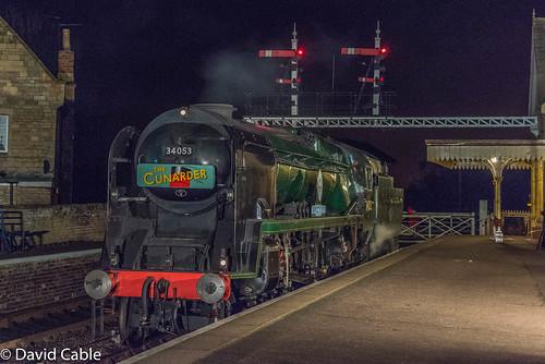 34053 at Wansford