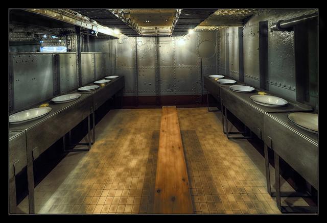Belfast NIR - HMS Caroline crew lavatory