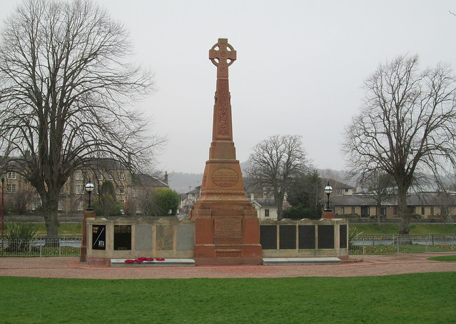 Inverness War Memorial Rear