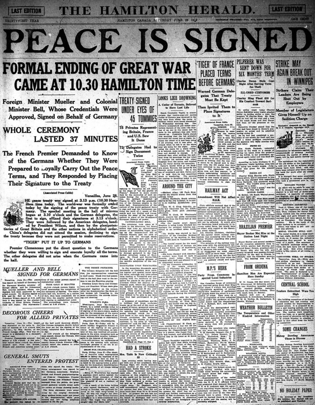 hh 1919-06-28 front page