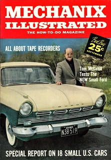 McCahill Tests Ford Taunus, Sept. 1958