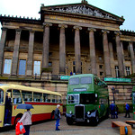 Big Bus Bash on the Flag Market at Preston