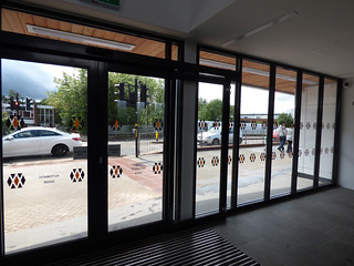 Longbridge Station reopened with a new building - Automatic Doors