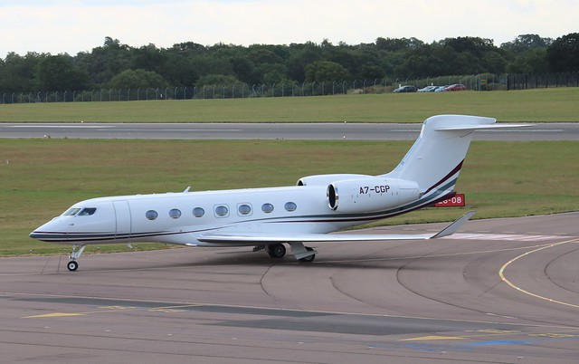 A7-CGP Gulfstream G500