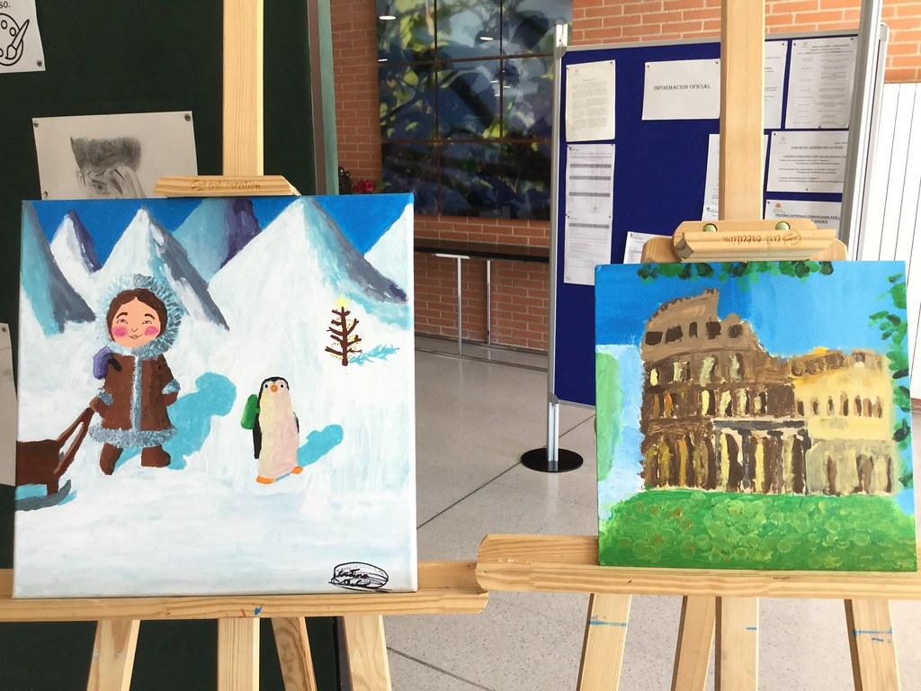 Exhibición de pintura