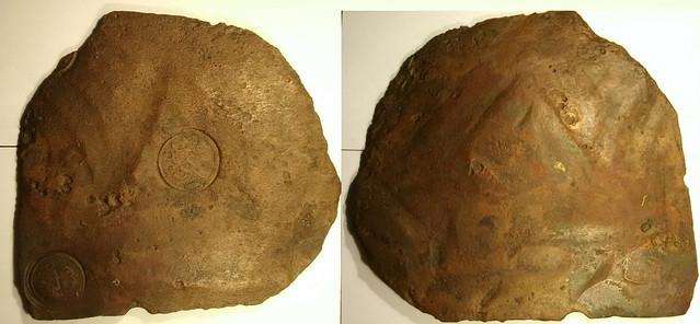 1756 4 Daler Swedish Plate