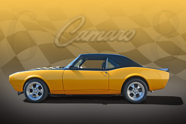 A Winner! - 68 Custom Camaro