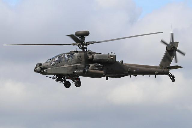 ZJ181  -  Westland AH.64D Apache  -  Army Air Corps  -  RIAT 2019 20/7/19