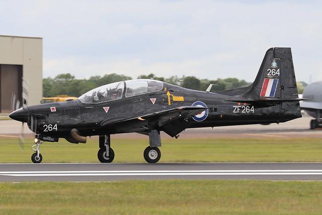 ZF264  -  Shorts Tucano T1  -  Royal Air Force  -  RIAT 2019 20/7/19