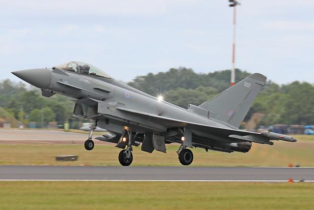 ZJ937  -  Eurofighter Typhoon FGR.4  -  Royal Air Force  -  RIAT 2019 20/7/19