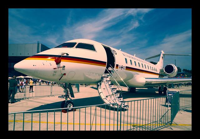 14+02 German Air Force Bombardier BD-700 Global Express (Executive Transport Wing / Flugbereitschaft)