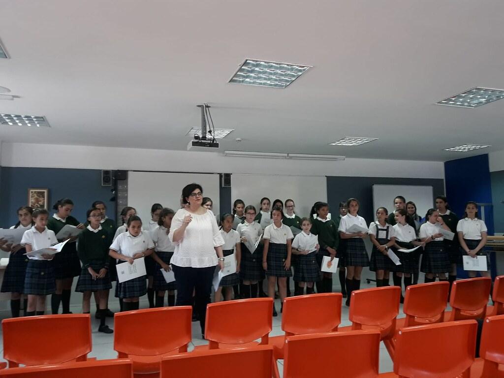 Exhibición de coro