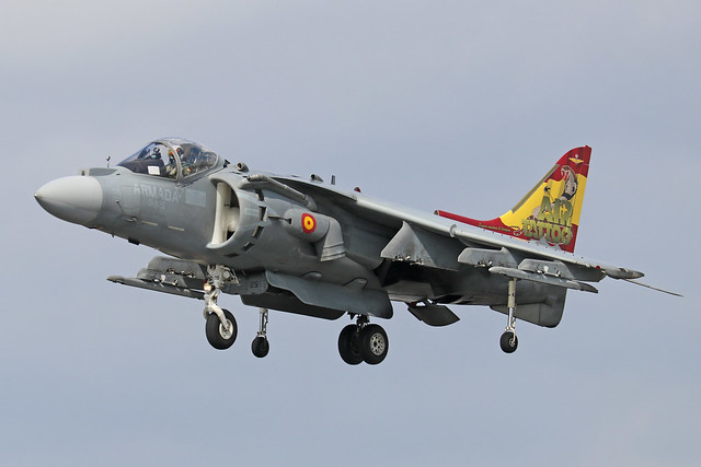 VA.1B-37/01-925  -  McDonnell Douglas EAV-8B Harrier II  -  Spanish Navy  -  RIAT 2019