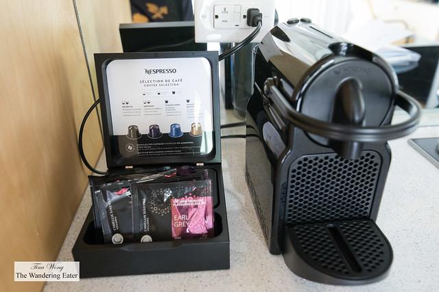 Studio Queen Room - Nespresso machine