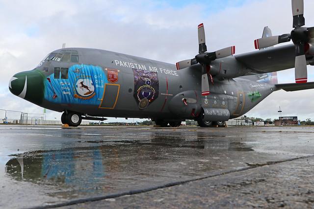 3766/766  -  Lockheed C130 Hercules  -  Pakistan Air Force  -  RIAT 2019