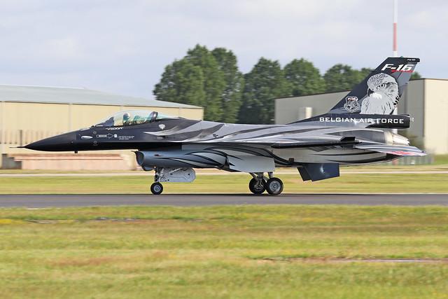 FA-101  -  General Dynamics F-16AM  -  Belgian Air Force  -  RIAT 2019