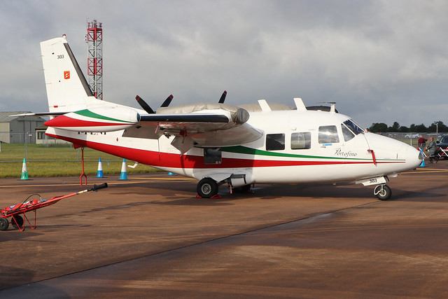 I-FENI  -  Piaggio P166C Albatross  -  Private  -  RIAT 2019 20/7/19